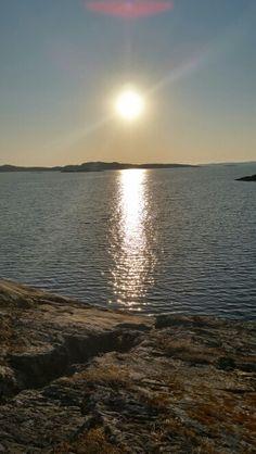 Solnedgång på Ramsö /västkusten