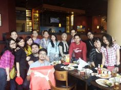 Welcome lunch @ outback kuncit
