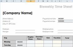 microsoft timesheet templates