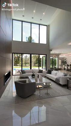 Modern House Design, Small House Design, Home Interior Design, Home Room Design, Luxury Living Room, Modern Houses Interior, Interior Design, House Interior, Luxury Interior Design