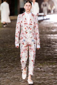 Alexander McQueen Menswear -Primavera-Verano 2014 Londres