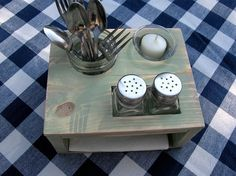 Best Table Caddy Images On Pinterest Table Caddy Camping Ideas - Restaurant table organizers