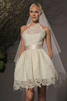 Vestidos de noiva curtos… fotos para inspirar - Site de Beleza e Moda