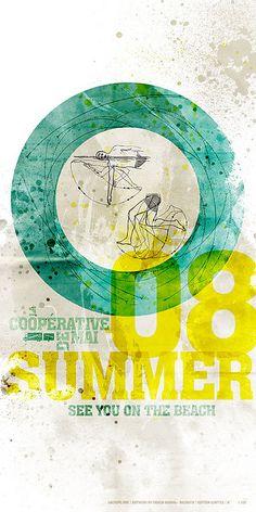 Coopérative de mai limited edition silkscreened poster by fabienbarral, via Flickr