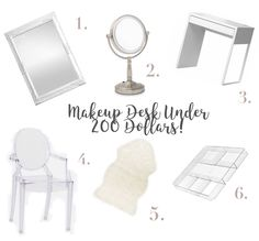 DIY Makeup Desk For Under 200 Dollars! on Bunny and Moon By Orlandice Diy Makeup Desk, Bunny, Moon, House Styles, Design, The Moon, Rabbits, Design Comics, Rabbit