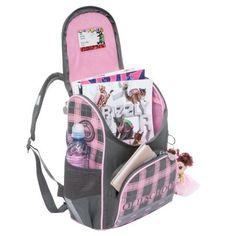c8e804ace2d5 Рюкзак Grizzly Клетка для девочек Розовый - купить в интернет магазине  Детский Мир в Москве и