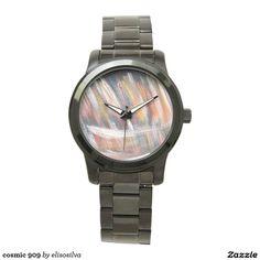 Tu reloj Reloj de pulsera negro estilo grande unisex personalizado