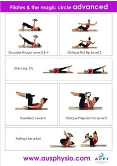 pilates ring exercises pdf