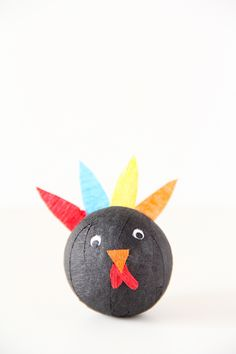 DIY Turkey Surprise Ball | And We Play
