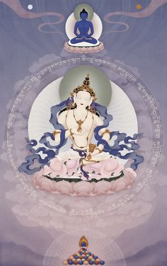 Vajrasattva - Ben Christian (Jampay Dorje), Buddhist Arts