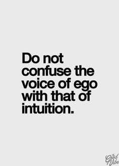 ego pushes for a material $ superiority which is of course a joke on you.  It's not about money, never has been never will be...