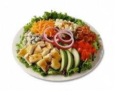 Turkey Cobb Salad - A pretty refreshing option for the days after Thanksgiving, what with all the fresh veggies involved.