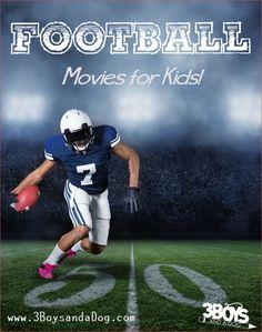 Football Movies for Kids (scheduled via http://www.tailwindapp.com?utm_source=pinterest&utm_medium=twpin&utm_content=post1096801&utm_campaign=scheduler_attribution)
