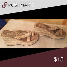 Sandal Wedge sandal MIA Shoes Sandals