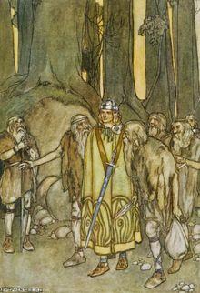 Fionn mac Cumhaill (/ˈfɪn məˈkuːl/ fin mə-KOOL; Irish pronunciation: [ˈfʲin̪ˠ mˠakˠ ˈkuːw̃əlːʲ];[1] Old Irish: Find mac Cumail or Umaill), t...