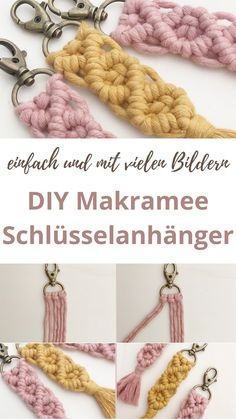 Diy Gifts Last Minute, Diy For Kids, Crafts For Kids, Diy Presents, Macrame Projects, Textiles, Diy Beauty, Handicraft, Knots