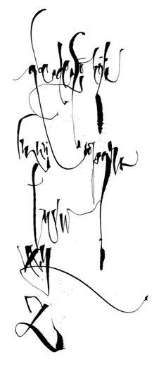 Ruling pen. Silvia Cordero Vega