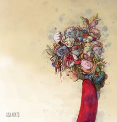 Old Man Walking, Walking In The Rain, Lisa, Magazine Illustration, Human Emotions, Surrealism, Watercolor Tattoo, Manga, Instagram