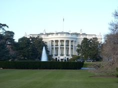 I wonder why they call this the White House