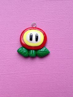 Super Mario Polymer Clay Charm by PixieAddictions on Etsy, $3.00 FLOWER POWER!!!