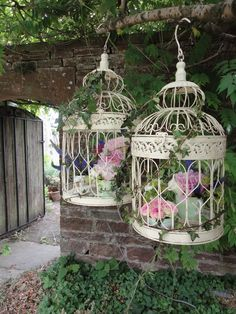 Bird cages - avaliable for hire - www.thevintagehire.com