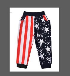 American Harem Style Pants For Baby Boy Toddler by RandomRegalia Boy Toddler, Baby Boy, Fourth Of July, Etsy Store, Pajama Pants, American, Trending Outfits, Vintage, Style