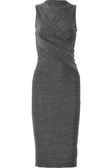 T by Alexander Wang twist-front jersey dress #r29summerstyle