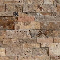 Scabos Split Face Ledgestone - Wine Cellar Opt. 1