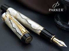Perfect Parker Mother of pearl Fountain Pen