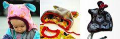 bienvenido colorido: Freebook: Bunny Mütze - KU 48-52, Mütze zum binden mit Hasenohren / Ohren