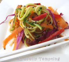 Super Quick Asian Garden Noodles (Raw)