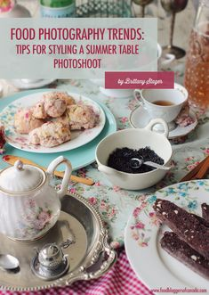 Propping and Styling for a Summer Food Photography Shoot Food Safety Tips, Best Food Photography, Food Hacks, Food Tips, Food Ideas, Food Styling, Styling Tips, Summer Recipes, A Food