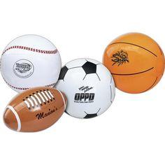 Sport Ball Shaped Beach Balls from www.schoolspiritstore.com