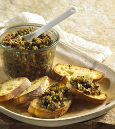 California Wine Country Tapenade featuring California Ripe Olives