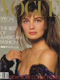 Paulina Porizkova by Richard Avedon Vogue US September 1986