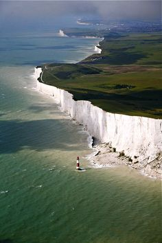 White Cliffs of Dover ... Southern England, UK- one of the most beautiful things I've ever seen.