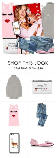 """LAZY DAYS"" by tiziana-melera ❤ liked on Polyvore featuring Acne Studios, Wrap, Roger Vivier and snapmade"