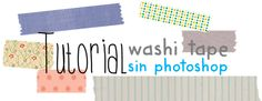 crear washi tape