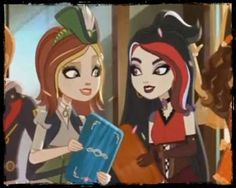 """Ever After High daughter of Peter Pan and Captain Hook. Because as Cedar and the Wonderlandians have proved, book characters are now """"fairytales"""" Ever After High, Dexter, Bratz Doll, Dolls, Fairy Tales For Kids, Childhood Tv Shows, Slime For Kids, High Art, Captain Hook"""
