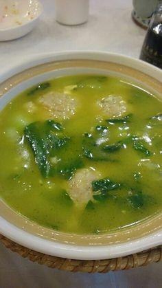 かに 団子スープ