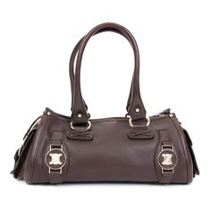 8e900b37407f9 Labellov Preowned Céline Oxblood Cilinder Bag ○ Buy and Sell Authentic  Luxury