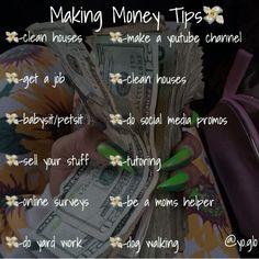 - Finance tips, saving money, budgeting planner Life Hacks For School, Girl Life Hacks, Teen Money, Mo Money, Making Money Teens, Ways To Get Money, Jobs For Teens, Hoe Tips, Glow Up Tips