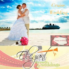 Looking for extra-ordinary wedding celebration? So don't worry, Elegant Events & Weddings has a lot of options for you and one of the best option is #cruise #wedding outstanding!!!