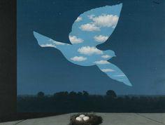 """René Magritte : """"De terugkeer"""", 1940. Brussel, Koninklijke Musea voor Schone Kunsten van België, inv. 6667"""