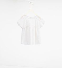 ZARA - KIDS - Loose-fit embroidered blouse