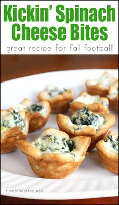 Awesome appetizer recipe for football season! That little bit of jalapaño adds a nice little kick!