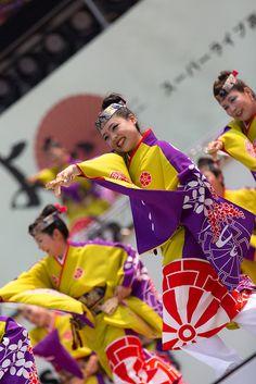第60回よさこい祭り 舞華   Flickr - Photo Sharing!