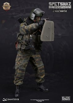 onesixthscalepictures: DAM Toys SPETSNAZ IN CHECHNYA : Latest product news for 1/6 scale figures (12 inch collectibles).