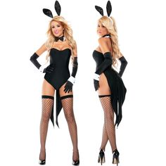 Sexy Womens Fairytale Disney Lola Bunny Tuxedo Playboy Hottie Halloween Costume | eBay