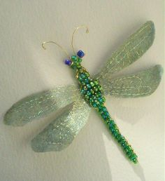 Stumpwork Dragonfly